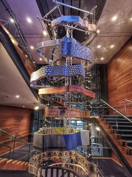 The HippodromeÂ's staircase Birmingham England by StevenBest