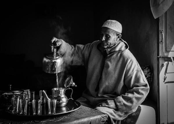 Berber Chief - Mint Tea Ceremony by mammarazzi