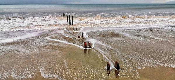 Beach scene by wisk