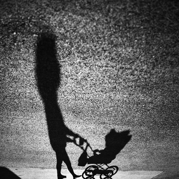 Strolling Shadows by t0m