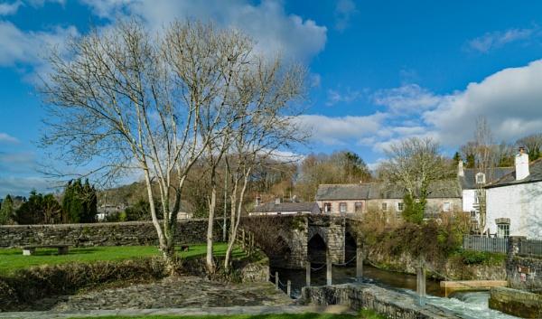 Bridge over the River Walkham by topsyrm