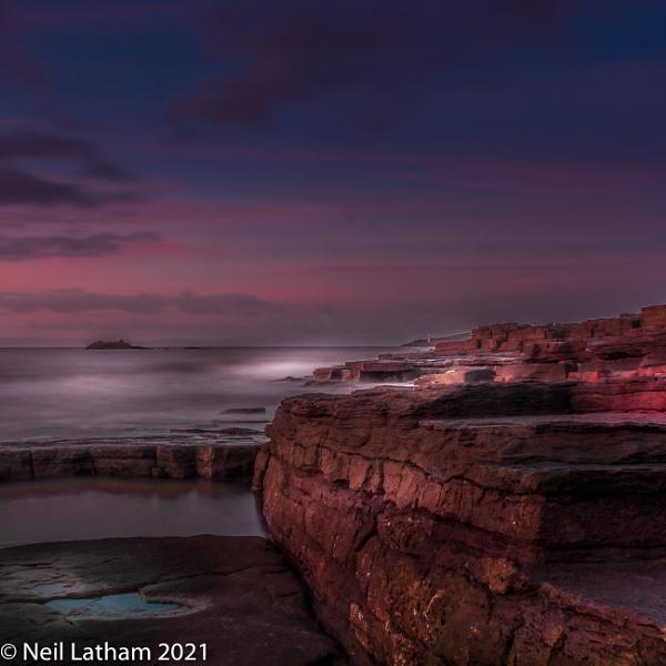 Sunrise at Bendricks Beach by Snapper100