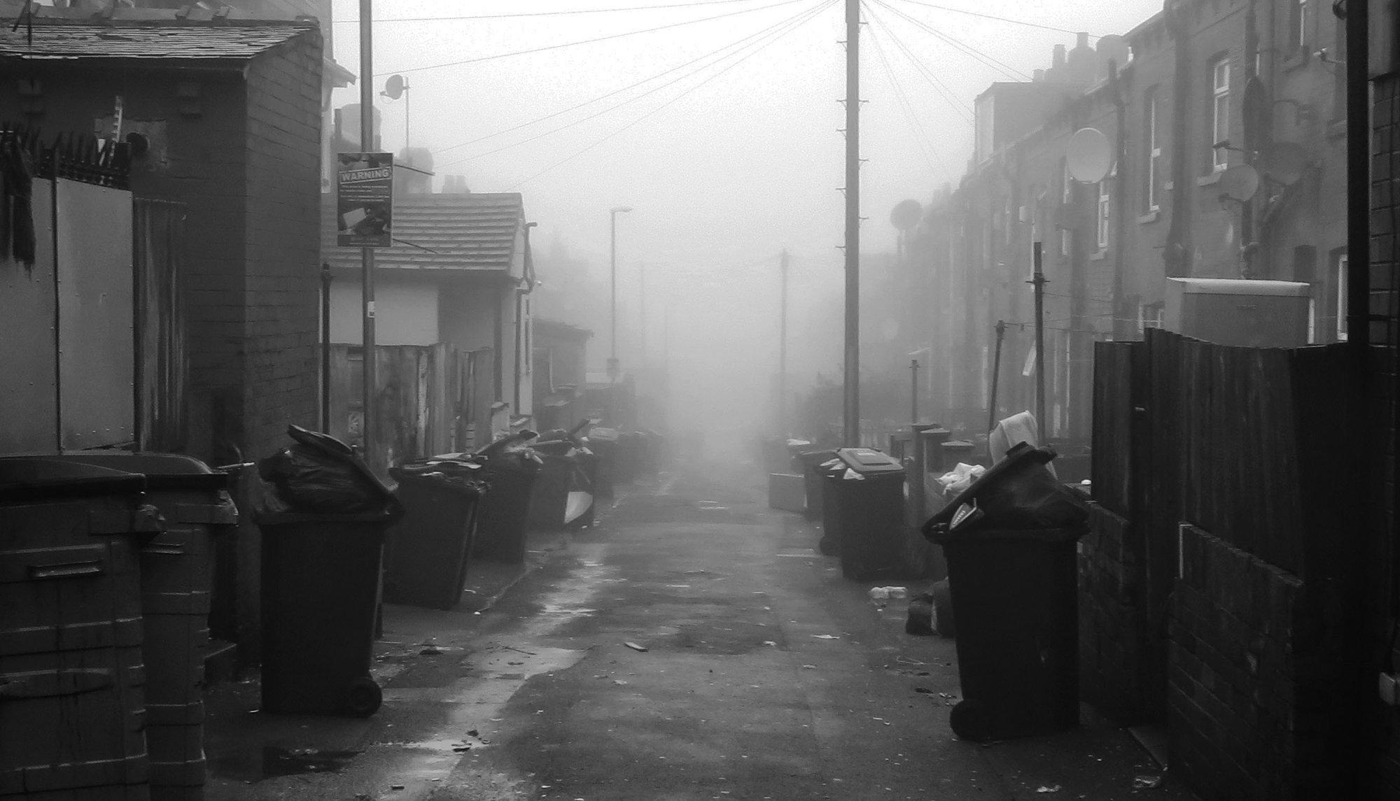 Dustbin day, Harehills.