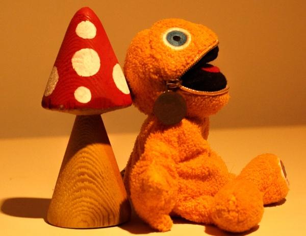 Zippy on the mushrooms by kingofthebiffs
