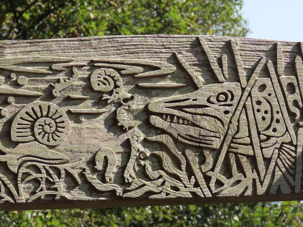 Wood carving by BlueJonnyp