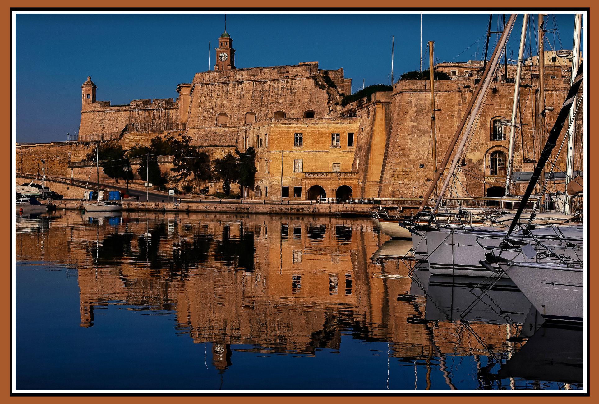 Fra' Claude de la Sengle -- 48th Grand Master of the Order of Malta----- SENGLEA MALTA