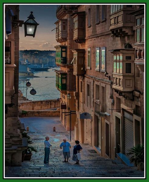 \'\'Daybreak Opinions\'\'  in ST. JOHN\'S Street VALLETTA Malta by Edcat55