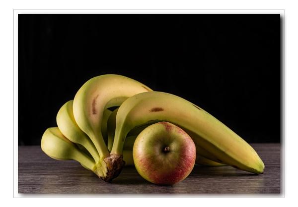 Apple and Bananas by Pamsar