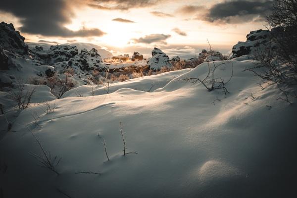 Cold Blanket by JohnDyer
