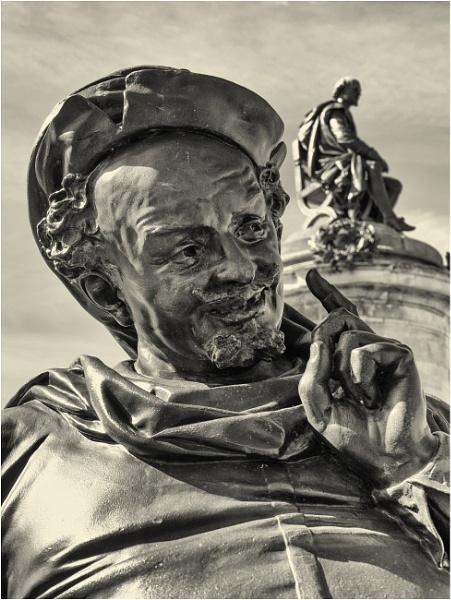 Falstaff and William Shakesphere. by franken