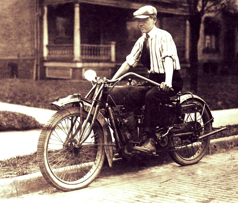 Fun on two wheels c.1910