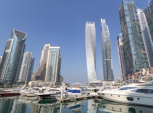 Dubai Marina by WorldInFocus