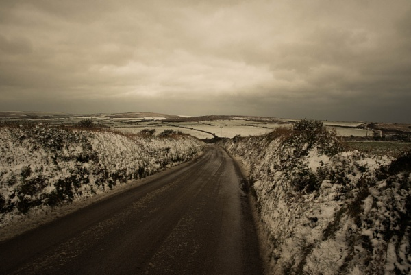 Rare west country snow. by PCarman