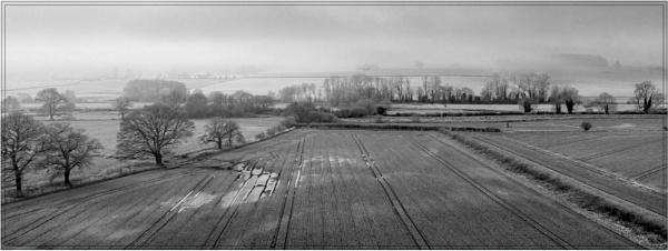 The winter field by Stevetheroofer