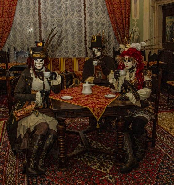 Tea Party by RonDM