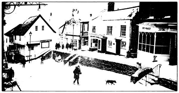 Last Time It Snowed In Lyme Regis (2018) by starckimages