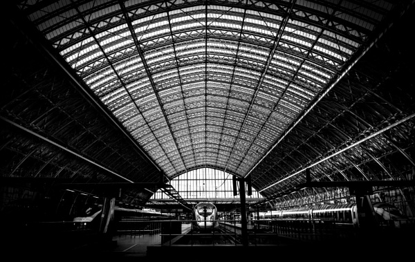 St Pancras International Station by stilk32