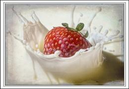 Strawberry splash.