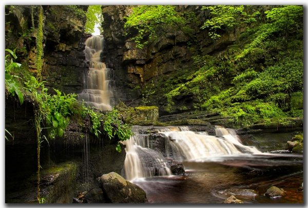 Mill Gill Falls by MalcolmS