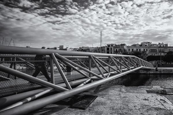 The Footbridge by Xandru