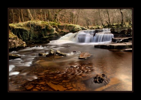Taff Fechan Waterfall by glyndwr