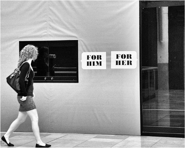 For him, for her. by franken