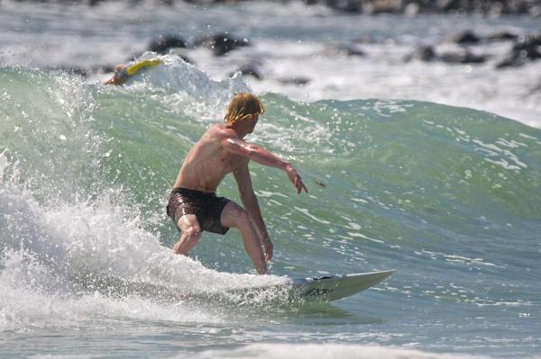 Surfing on the Gold Coast Australia (1) by harrywatson