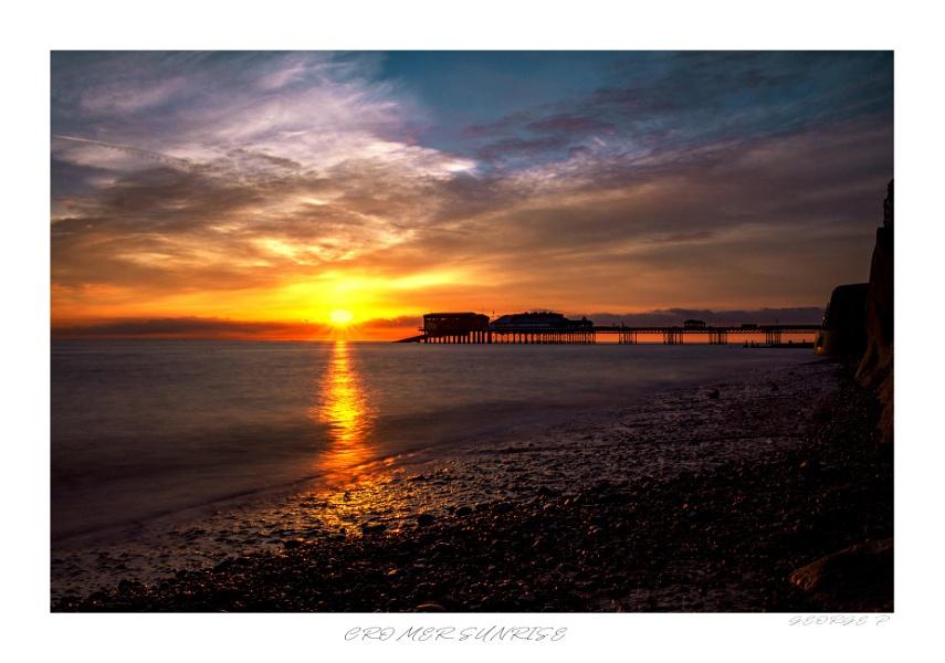 Cromer sunrise re-edited