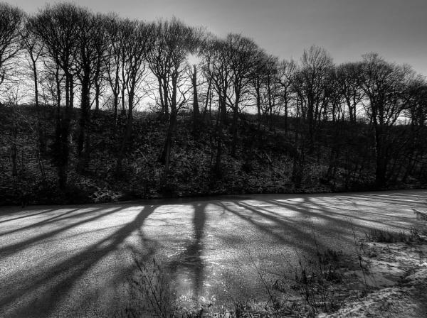 Winter Shadows by ianmoorcroft