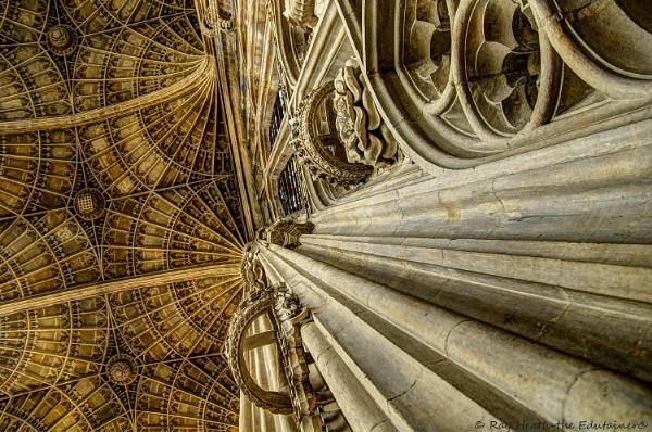 Kings Chapel Cambridge ceiling by RayHeath