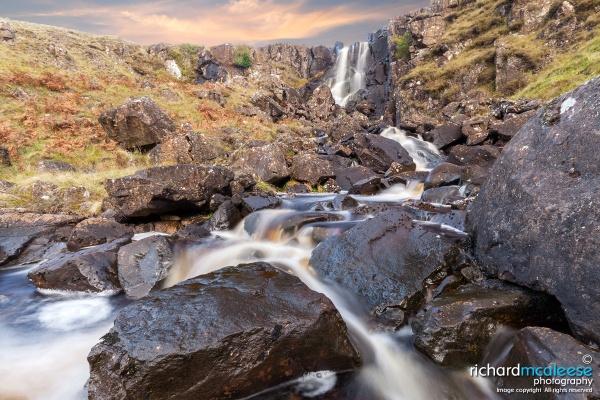 Inver River Falls by RichMac