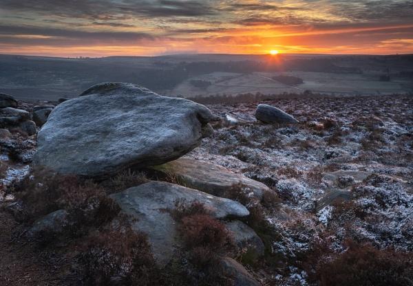 Gritstone Sunrise by Trevhas