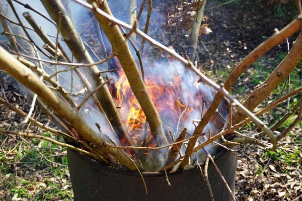 Fire by bucket