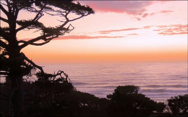 Slack Tide at Sunset by Phyllis007