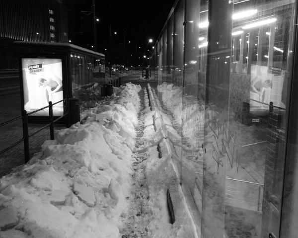 Trail through the snow by SauliusR