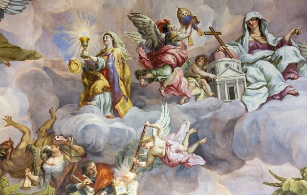 Karlskirche Fresco by GillyB