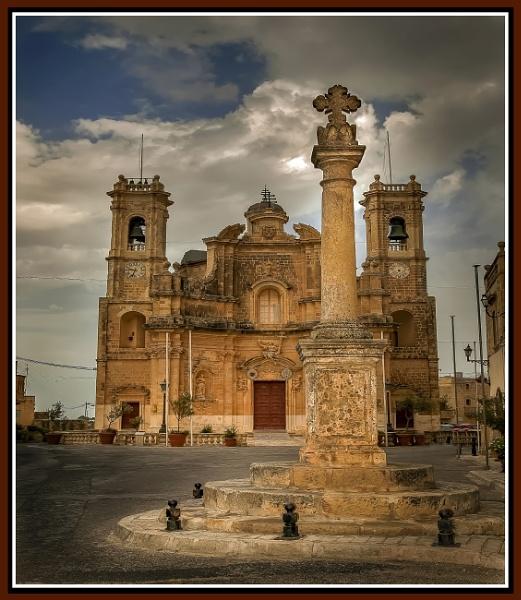 GHARB PARISH CHURCH ---- GOZO by Edcat55