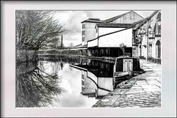 Canal Wharf. by Pegon