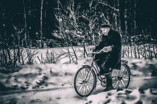 Cyclist by Leikon