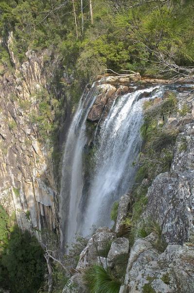 Minyon Falls Nightcap National Park by harrywatson