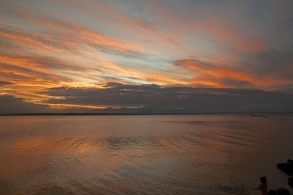 Australian Sunset by harrywatson