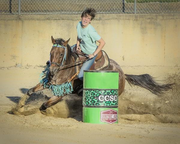 Intense barrel racer by jbsaladino