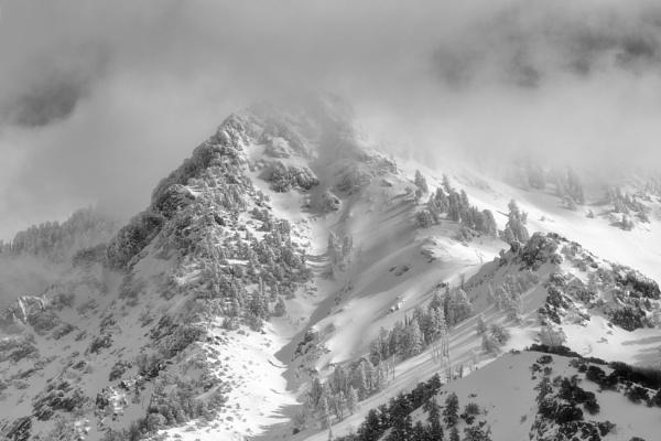 Snow mountain by mlseawell
