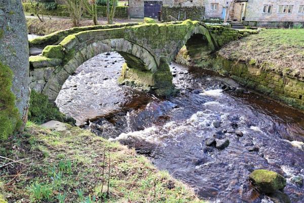 Packhorse Bridge (Wycoller) by olmeister6