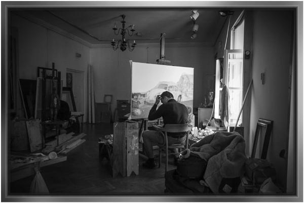 In the studio by nklakor