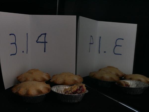 Pi = 3.14 by martininbg