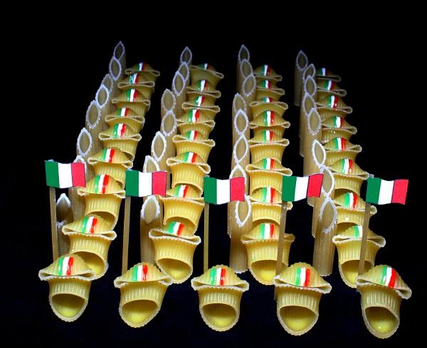 Pasta Army by martininbg