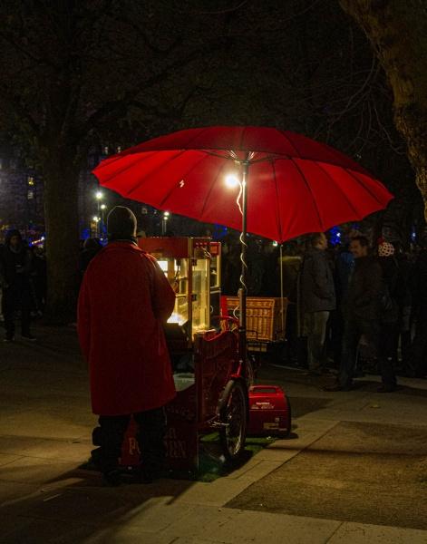 Street Vendor by RonDM