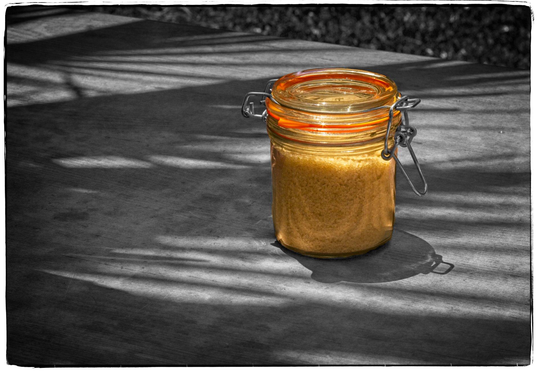 raw sugar to sweeten the shadows