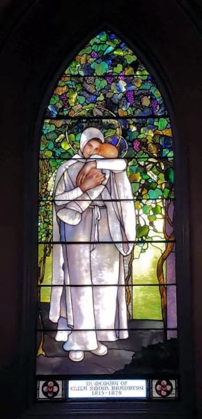 Madonna Window by Joline